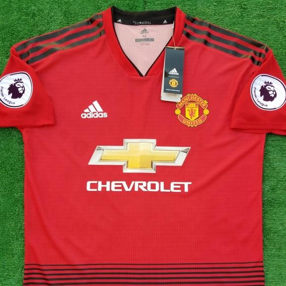 23bae57ce44 2018 19 Manchester United soccer jersey Pogba